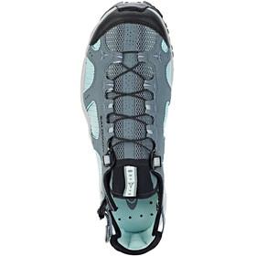 Salomon Techamphibian 3 Shoes Women Stormy Weather/Eggshell Blue/Black